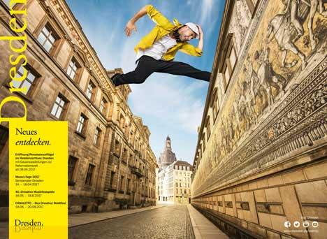 Dresden Jahreskampagne 2017 | Neues entdecken. | (c) Dresden Marketing 2017