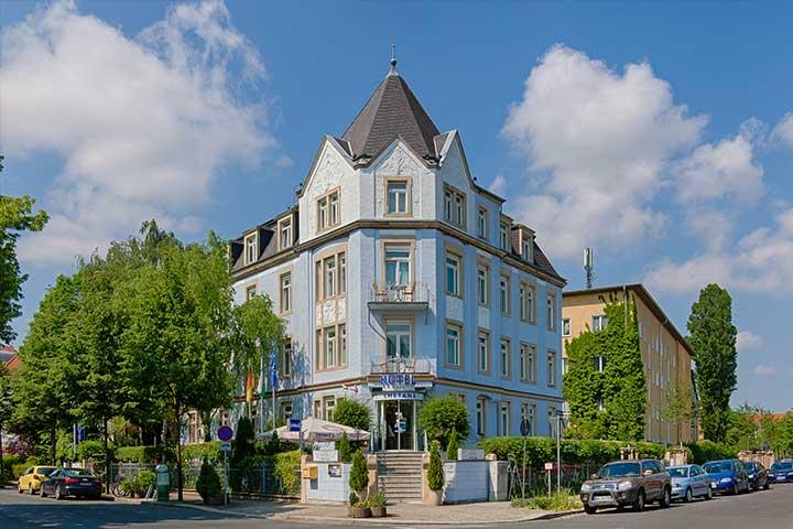 Dresden Hotel Smetana Außenansicht - Ein Wochenende im Hotel Smetana