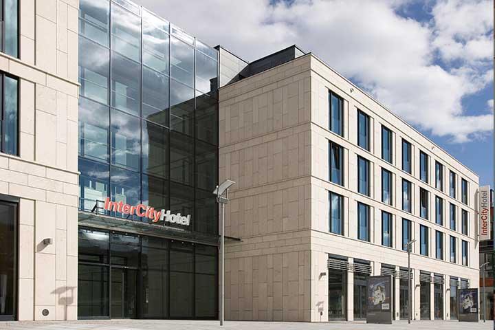 InterCity Hotel Dresden Außenansicht - Dresden genießen