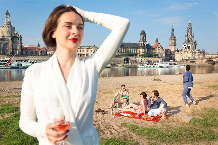 Gruppenreisen Dresden erleben mit Compact Tours - Dresdner Elbufer