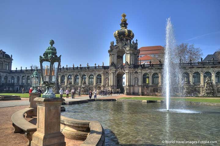 Gruppenreisen Drescher - Dresden im historischen Stadtzentrum