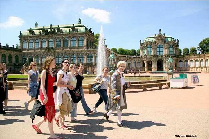 Gruppenreisen Reisebüro Anne Schwarz - Stippvisite Dresden mit kurzweiligem Stadtrundgang