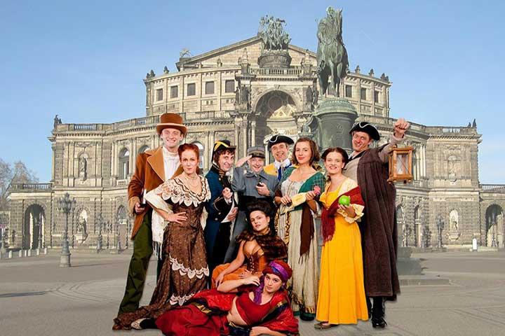 Firmenreisen Dresden - Incentives Barokkokko mit Abendunterhaltung