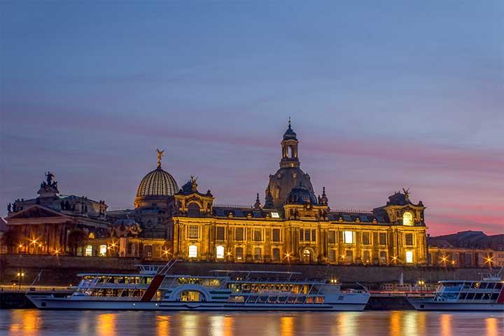 Dresden-Tourist - Dampferfahrten zu Dresden