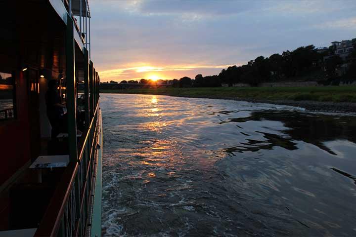 Dampferfahrten Dresden - Abendbrotschiff