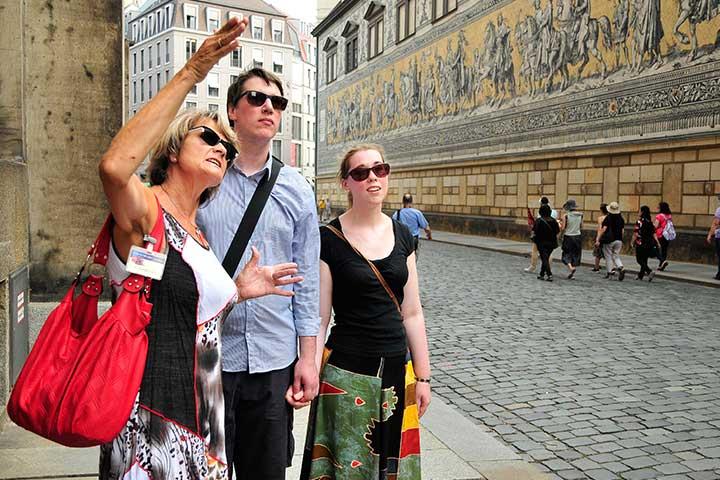 Dresden-Tourist - Angebote für Stadtführungen