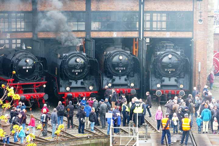 Augustustours Dampflokfest - Individualreise zum Dampfloktreffen Dresden