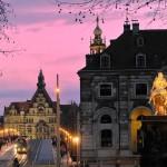 Dresden Kurzreise Compact Tours - Goldener Reiter | (c) Frank Exß
