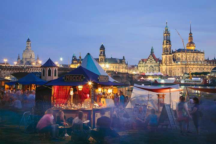 Dresden Kurzreise Compact Tours - Stadtfest