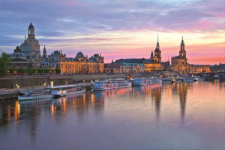 Dresden Kurzreise Sachsenträume - Dresden Skyline