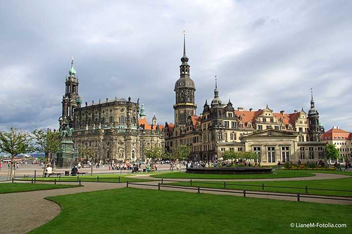 Drescher Stadtreise - Königlich residieren im Schatten der Frauenkirche