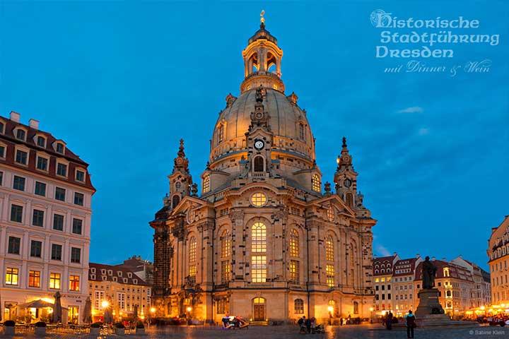 Dinner & Wein - Dresden Frauenkirche